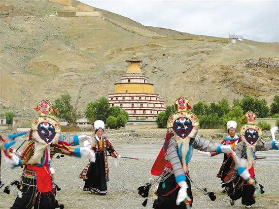 西藏日喀则昂仁县迥巴藏戏