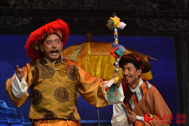 藏戏《朗萨雯波》赴山南、日喀则巡演
