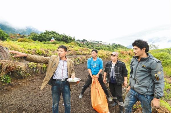西藏墨脱县发展稻田反季节蔬菜种植