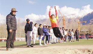 """国家体育总局到西藏选拔冰雪项目""""苗子"""""""