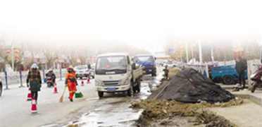 拉萨市区多条道路进入施工期