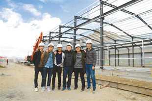 投身拉林铁路建设的五位大学生