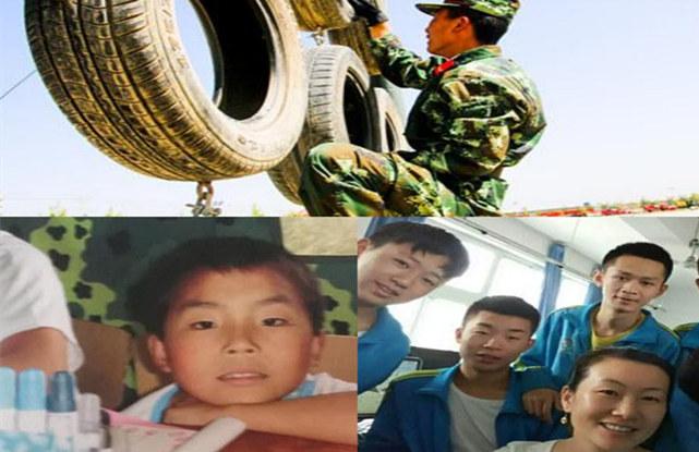 汶川地震遗孤,长大后成了高原武警战士