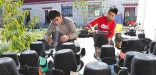 山南:传统手艺 助力增收