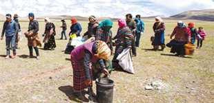 西藏:呵护生态 保护家园