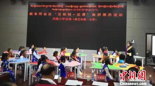 中央援藏资源促西藏教育信息化发展