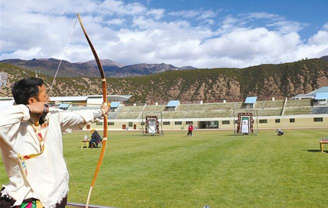西藏第七届户外运动大会林芝响箭比赛举
