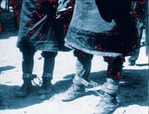 西藏历史 封建农奴制下藏民的悲惨生活 24