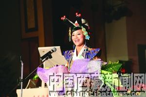 """昨晚8时,""""藏泉之夜""""卓玛央宗 央金兰泽 米线大型公益演唱会在拉萨图片"""
