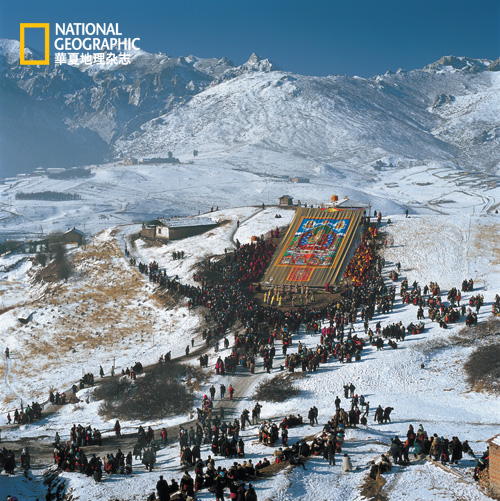 边防部队树林雪山照片